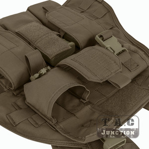 Image 5 - Emerson Tactical Compact Vest SPC Style High Speed Plate Carrier Adjustable Vest w/ Triple For M4 M16 Magazine Mag Pouch
