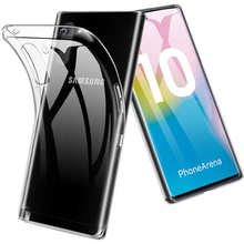 Transparent Silicone Phone Case for Samsung Galaxy Note 10 Pro Plus Lite Soft TPU Clear