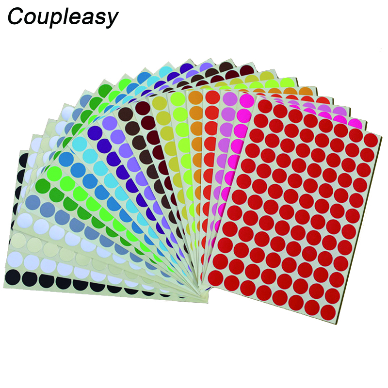 Different Pack Sizes 30mm Bright Red Euro € Price Point Stickers Sticky Labels