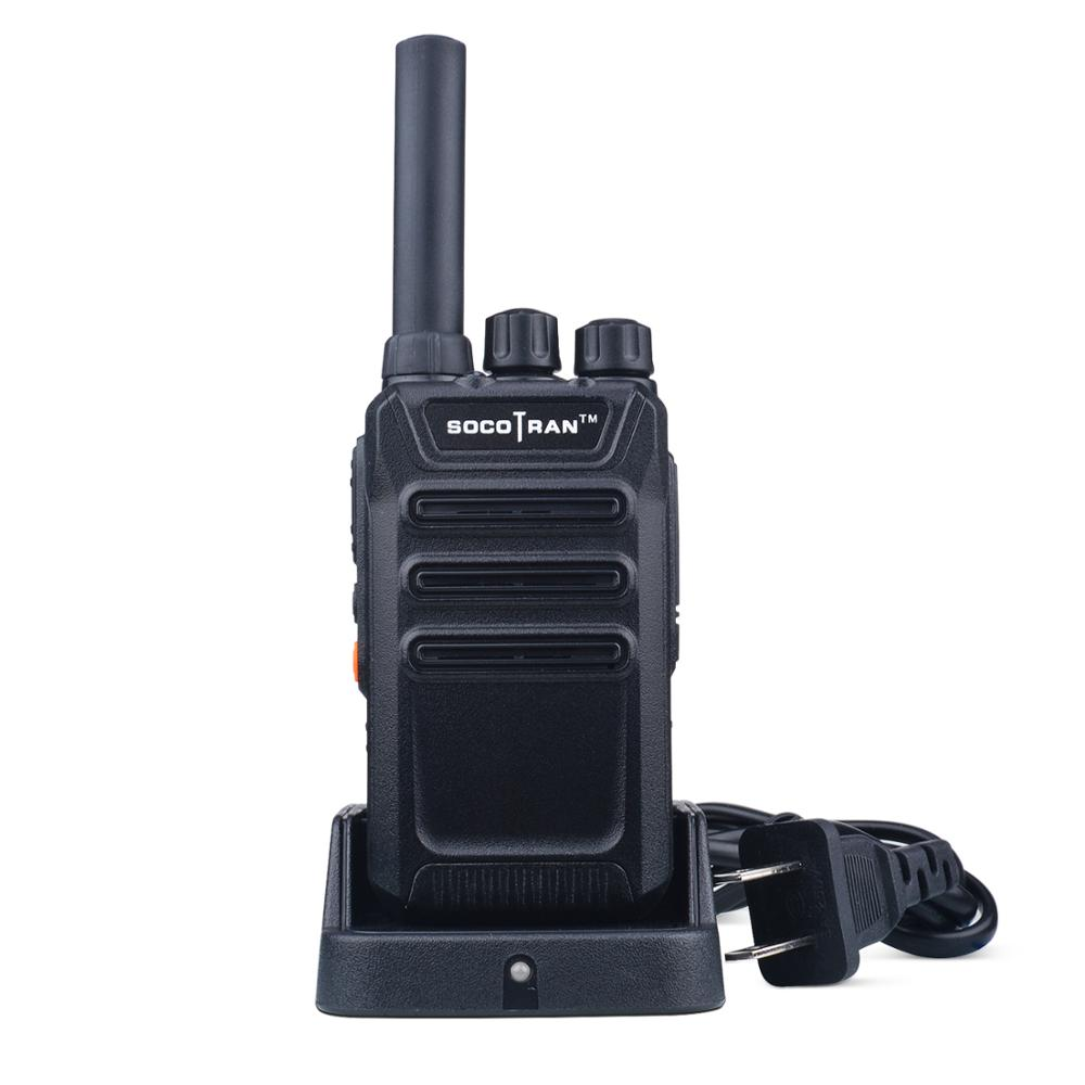 In Moscow Portable Two Way Ham Radio Walkie Talkies Rechargeable Long Range UHF 400-470MHz 16CH For Hunting Security Commercial