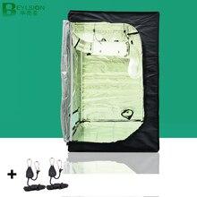BEYLSION boîte de culture, 100x100x200cm, tente de culture intérieure, accessoires avec lampe, serre de culture avec raccords de tente