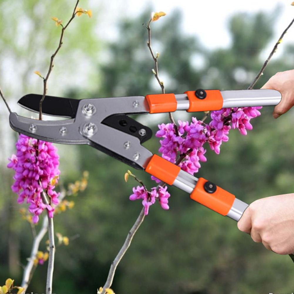 Aluminum Alloy Loppers Telescopic Pruning Shears Plant Shears Scissors Flower Tree Branch Cutter Garden Pruning Tools