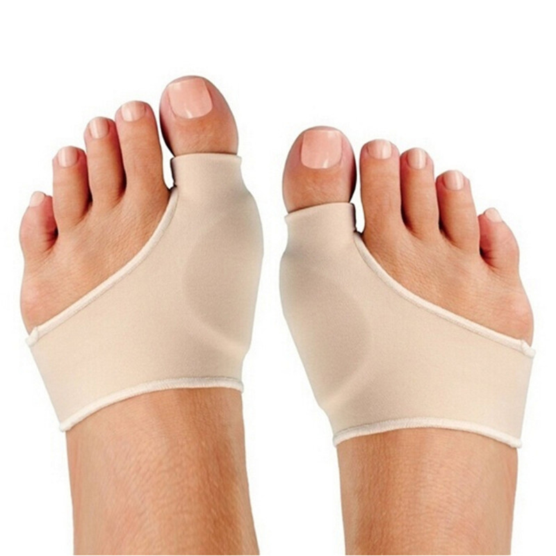 2Pcs Feet Care Big Toe Hallux Valgus Corrector Orthotics Bone Thumb Adjuster Correction Pedicure Socks Bunion Straightener
