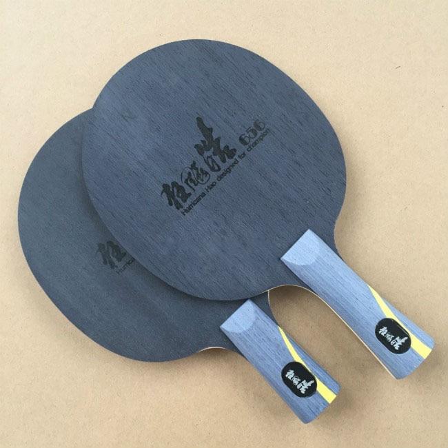 HURRICANE HAO Table Tennis Blade Table Tennis Pingpong Racket FL CS ST Handle Table Tennis Bats Long Short Handle