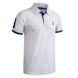 Image 4 - Рубашка поло с вышивкой в виде жирафа, 5 комплектов