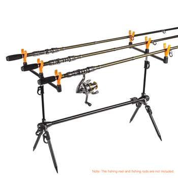 Best 100% original Lixada Fishing Rod Pod Stand Holder Retractable Carp Fishing Pole Fishing Rods Brand Name: LIXADA