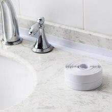 Zlew prysznic-mold wodoodporna taśma kuchnia łazienka wodoodporna taśma PVC naklejki taśmy uszczelniające pleśni naklejki samoprzylepne taśmy
