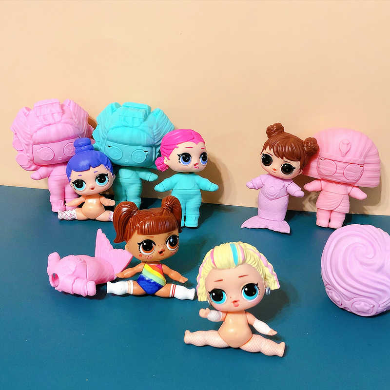 LOL doll Surprise Original  4 generation Space clothing accessories Dolls Action Figure Model Girl Christmas gift