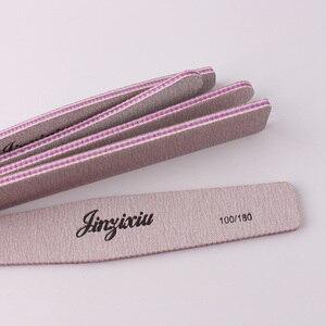 1 шт. Двусторонняя пилочка для полировки инструмент для творчества печать Шлифовальная Пилка Для ногтей файл падение Грит розовый пилка для ногтей Пилки для ногтей и буферы      АлиЭкспресс