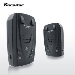Detectores de Radar Karar g820gur Led 2 en 1 Detector de Radar para Rusia con GPS coche Anti radares velocidad de policía Auto X CT K La