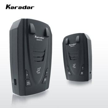 Karadar G820STR Radar Detektoren Led 2 in 1 Radar Detektor für Russland mit GPS Auto Anti Radargeräte Polizei Geschwindigkeit Auto X CT K La
