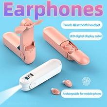 Holiday Gift F7 Wireless Headphones TWS Sport Bluetooth 5.0 Earphones In-ear 9D Noise Reduction HiFi IPX5 Waterproof Headset new x12 tws bluetooth headphones earbuds hifi sport wireless earphones noise reduction in ear headset for i9000 i12 pro i7s i9s