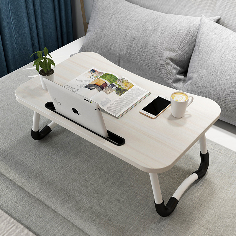 Bed Small Table Household Foldable Lazy Students Dormitory Bedroom Learning Do Table Simple Laptop Table