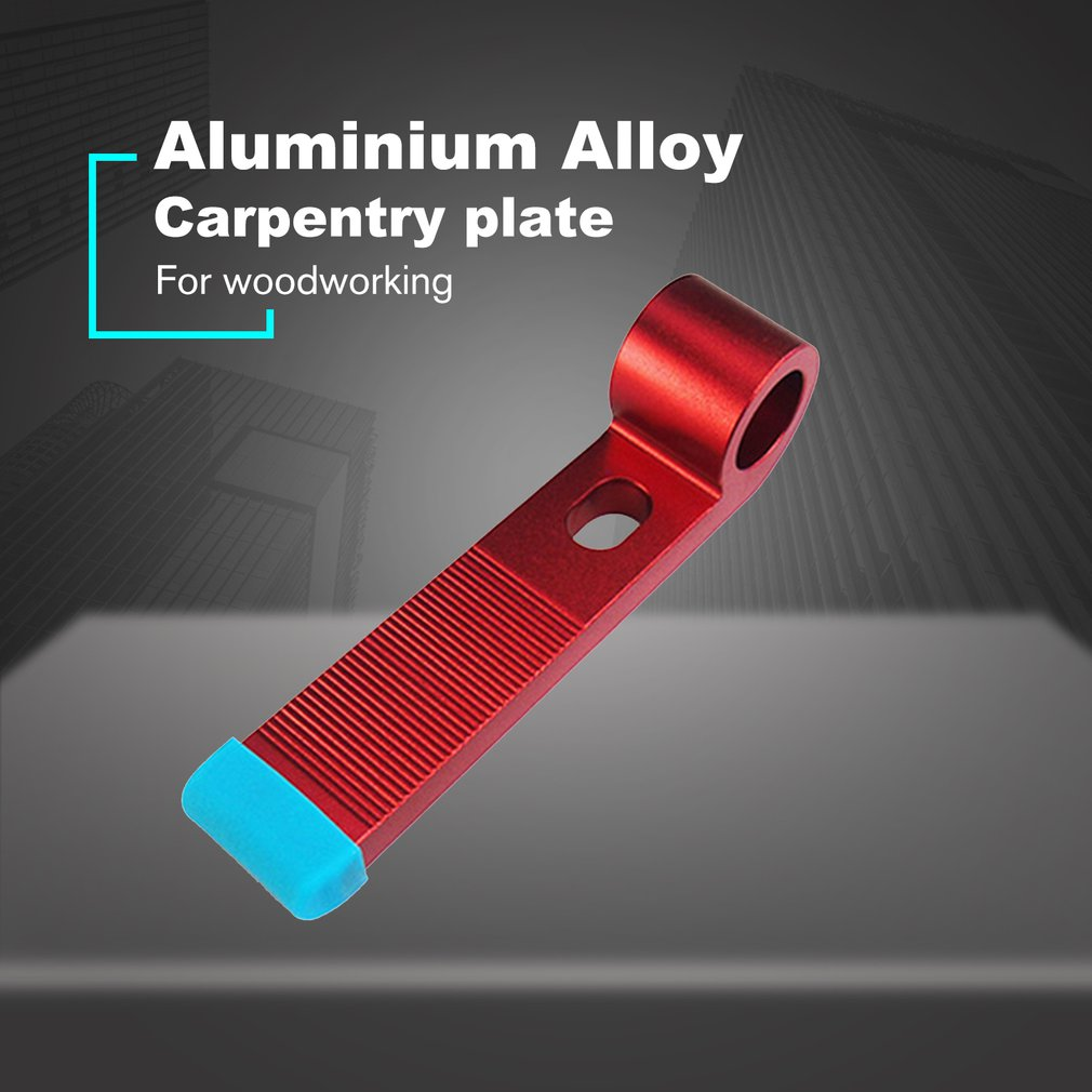 Aluminum Alloy Universal Clamping Blocks Platen Miter Track Clamping Blocks M8 Screw Woodworking Joint Hand Tools Set