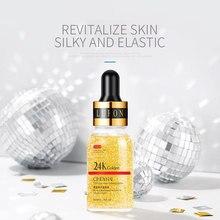 24k ouro rosto soro clareamento hidratante ácido hialurônico anti envelhecimento anti rugas natural de longa duração cuidados com a pele tslm1