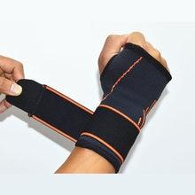 Wristband Sports Safety Adjustable Wrist Support Gym Carpal Tunnel Badminton Tennis Wrist Band Wraps Bandage Bracers