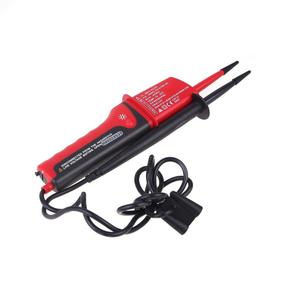 Tools : UNI-T UT15C AC voltage detector waterproof digital multimeter 24V 690V AC DC voltage tester phase rotating electric pen