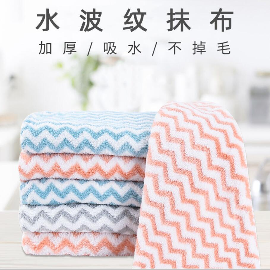 Lower Price with Kitchen Towels Wiping Rags Efficient Super Absorbent Cleaning Cloth Home Washing Dish Kitchen Cleaning Towel Kitchen Accessories