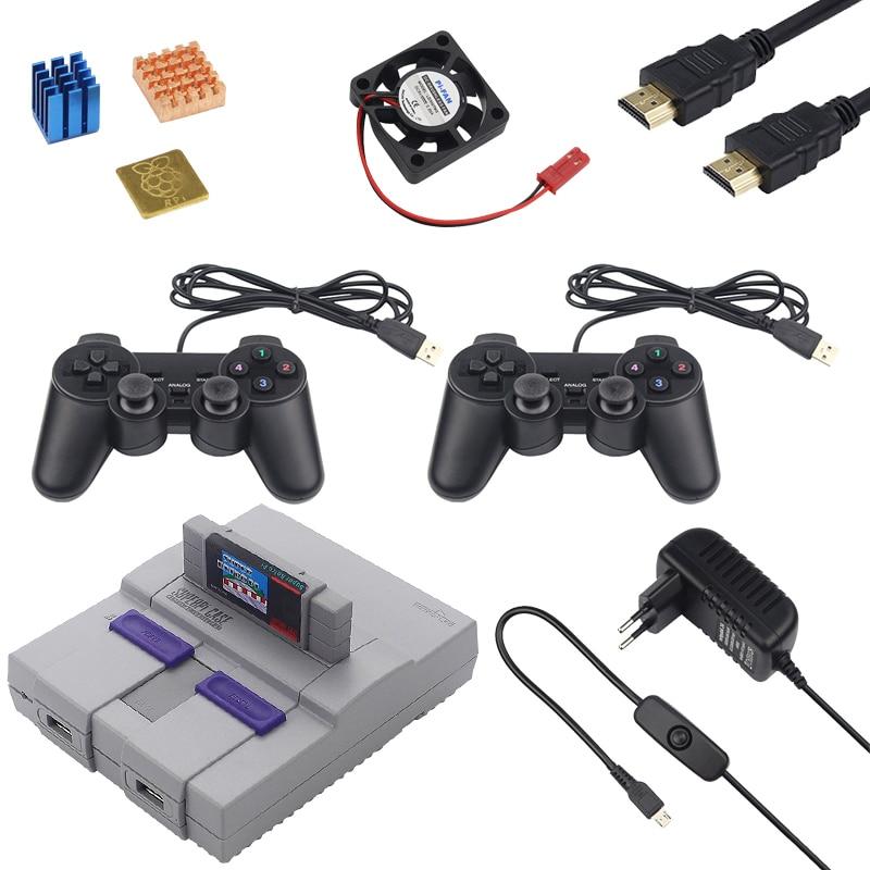 Retroflag NESPI Case SUPERPi Case-U /& Game Controller for Raspberry Pi 3B+//2//3B