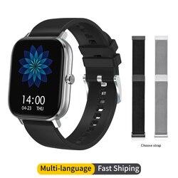 NO.1 DT35 Смарт-часы ЭКГ пульсометр кровяное давление 1,54 дюймов Bluetooth Вызов IP67 водонепроницаемые спортивные модные Смарт-часы