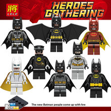 Única Venda legoINGly DC Super Heroes Batman Superman O Filme Figuras de Ação Building Blocks Brinquedos Compatível legoedly(China)