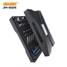 JAKEMY JM 6125 Original Screwdriver Set with High Quality S 2 Driver Bit DIY Repair Tool Kit for Laptop Glasses Mobile