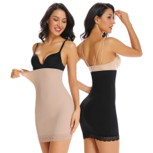 WOWENY Высокая талия для похудения бесшовное нижнее белье трусики Топ Корректирующее белье для женщин под платья животик контроль кружевная юбка