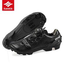 Santic obuwie rowerowe MTB szosowe trampki antypoślizgowe samoblokujące rowerowe Pro zamki buty Zapatillas Sapatilha Ciclismo