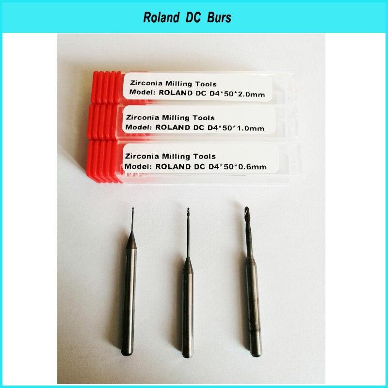 dc dlc arco iris revestimento de moagem burs para zirconia bloco disco uso dental laboratorio ferramentas