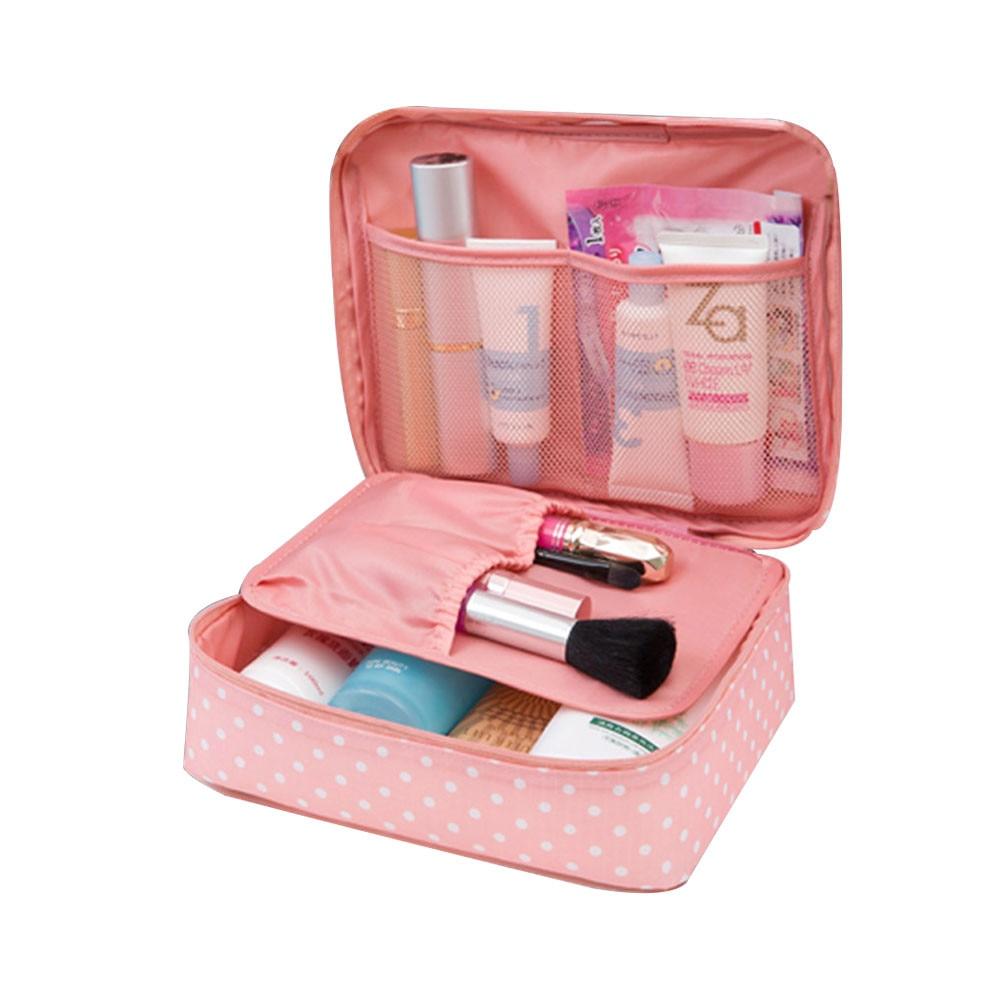 Hand Cosmetic Bag Makeup Bag Wash Package Large Capacity Case Bag Organizer Travel Toiletry Storage Package Women Makeup Pack *