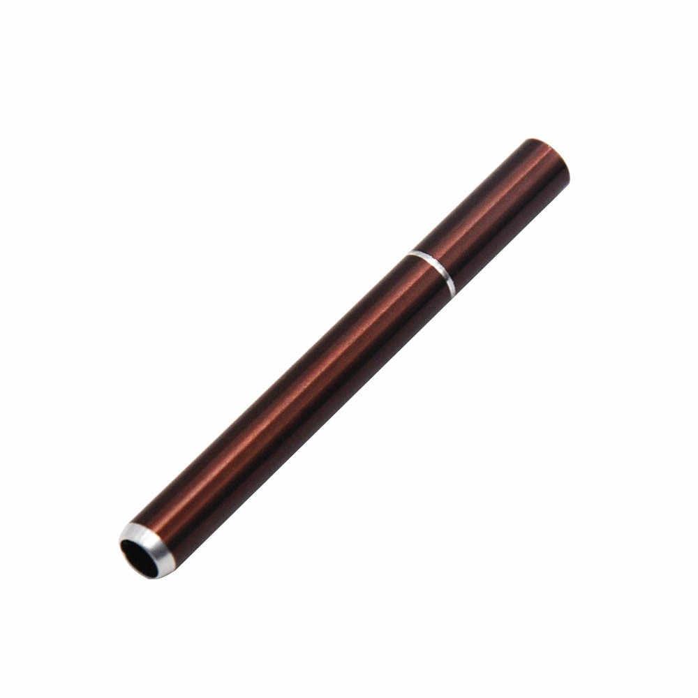 78MM étui à cigarettes en aluminium un frappeur fumer herbe tuyau métal tabac réservoir de cigarettes accessoires de poche taille