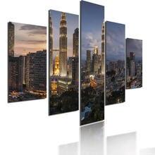 Художественная Картина Закат облако архитектура холст постеры