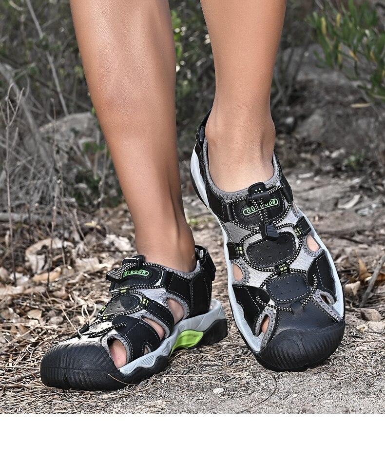 ao ar livre e caminhadas couro resistente