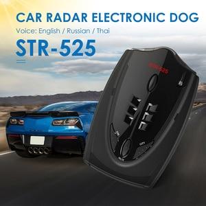 Image 2 - Auto Geschwindigkeit Detektor Stimme Auto Fahrzeug Geschwindigkeit Alert Warnung Für Englisch Russische Thai Auto Geschwindigkeit alarm Fahrzeug tachometer
