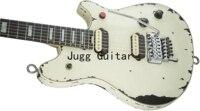 Edward Eddie Van Halen-guitarra eléctrica de color blanco, Floyd Rose, puente trémolo