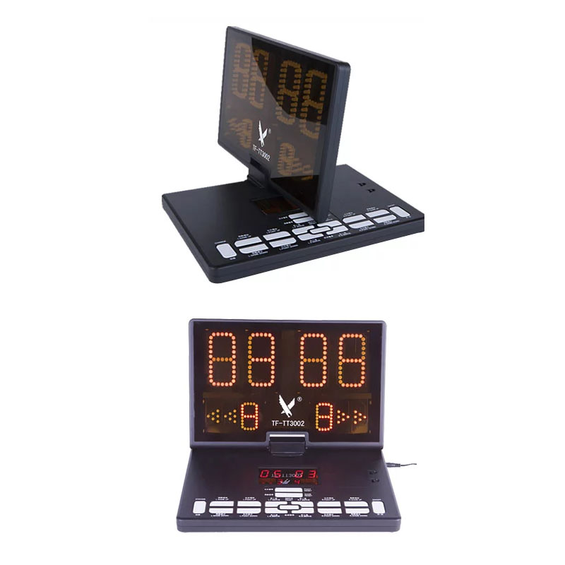 Scoreboard Multifunctional Portable Table Tennis Score Board Sports LCD Equipment Accessories