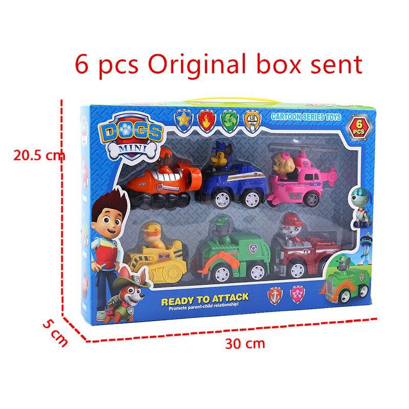 6 pcs original box