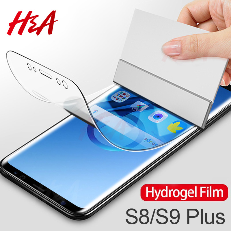 45D Screen Protector For Samsung Galaxy S9 S8 Plus S10 Plus Lite A50 A40 Hydrogel For Samsung Note 8 9 10 Plus Soft Film