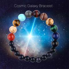 Браслет с 8 планетами Вселенная планета для мужчин и женщин