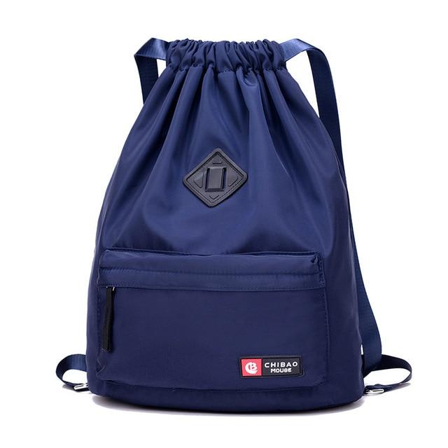 Foldable Drawstring Backpacks Travel Shoulder Bag Men And Women Waterproof Nylon Bagpack Waterproof Bag Sport Outdoor Modis