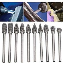 Популярно 10 шт 3*6 мм Заточная головка из вольфрамовой стали