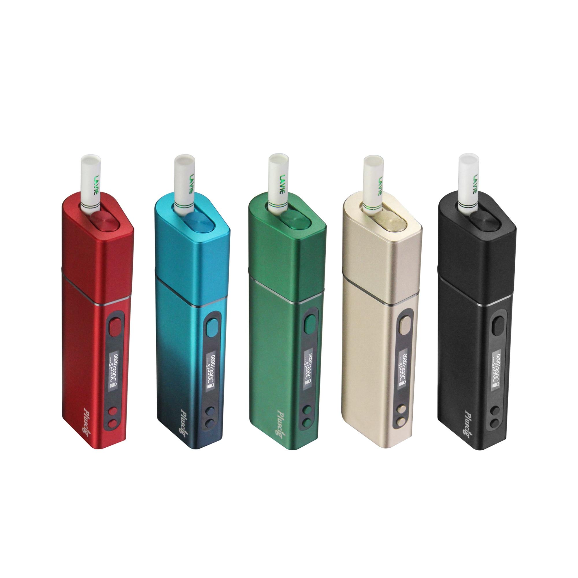 Original Pluscig S9 Charged Electronic Cigarette Vape Kits with 3500mah Battery Brand Heating Tobacco Stick E-cigarette kit