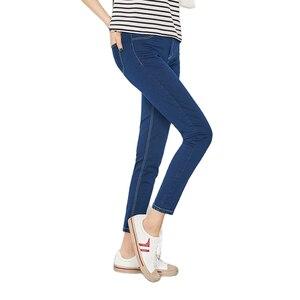 Image 1 - Semir Nieuwe Jeans Voor Vrouwen 2020 Vintage Slanke Stijl Potlood Jean Hoge Kwaliteit Denim Broek Voor 4 Seizoen Broek Tiener mode
