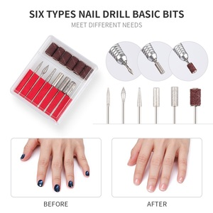 Image 5 - 2 In 1 40W 45000RPM Electric Nail Dust Collector Handpiece Manicure Pedicure Machine File Kit Nail Tools with Nail Drill Bits