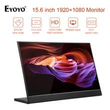 "EYOYO EM15R Tragbare Monitor 15.6 ""LED USB Typ C Hdmi gaming monitor ips 1920X1080 FHD display für PS4 Laptop telefon Xbox Schalter"