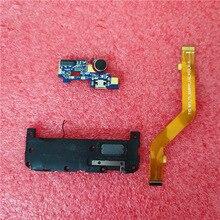 עבור Leagoo M5 תשלום יציאת מחבר USB טעינת Dock רמקול רינגר רמקול ראשי מחבר להגמיש כבל