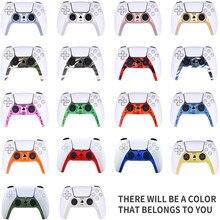 גרסה מעודכנת דקורטיבי רצועת עבור PS5 Dualsense DIY החלפת מעטפת צבע קישוט עבור פלייסטיישן 5 בקר פנל