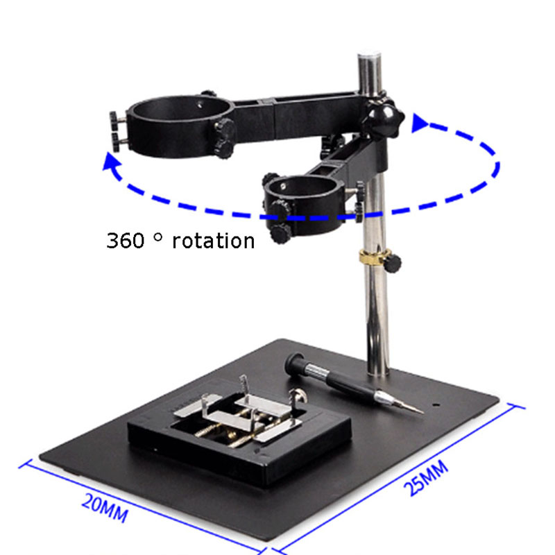 1SET Durable Foldable Multi-function Hot Air Gun Frame SMD Reworkd Soldering Station 8586 Heat Handle Stand Holder