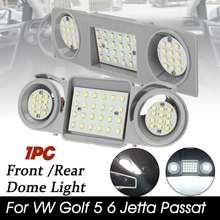 LED Car Interior Dome Roof Lights For VW Golf Passat Jetta Scirocco Sharan Tiguan Touran