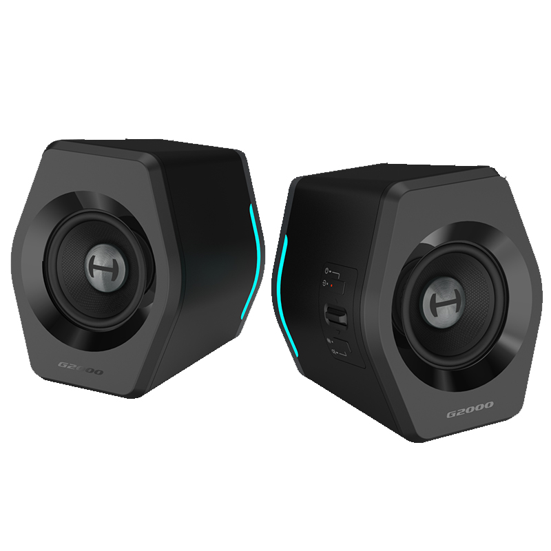 EDIFIER <font><b>G2000</b></font> gaming speaker 16W RMS power output 2.75 inch full range unit Bluetooth <font><b>USB</b></font> sound card AUX input image